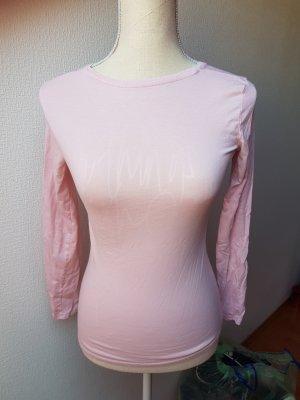 Langarm Shirt rosa; Gr. 34
