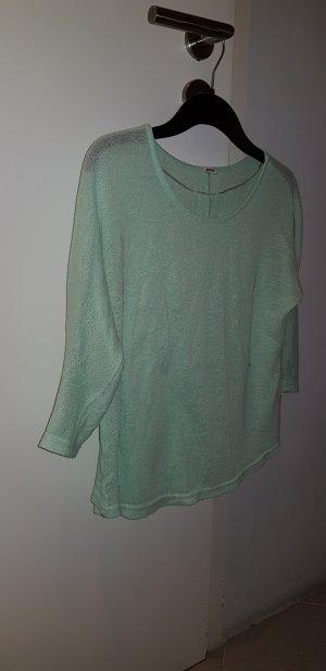 Langarm Shirt türkis