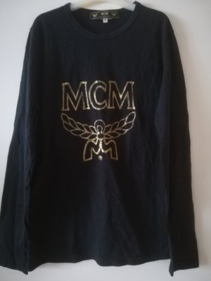 Langarm Shirt Vintage von MCM, angenehme Baumwolle, guter Zustand