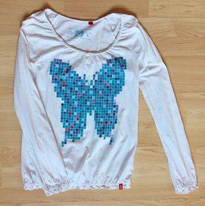 Langarm-Shirt von Esprit, Schmetterling