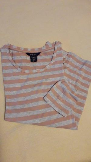 Gant Gestreept shirt zilver-roségoud Viscose