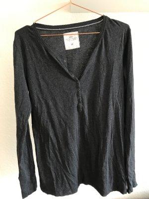 Langarm-Shirt von L.O.G.G./H&M, anthrazit, Größe L