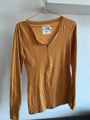 Langarm-Shirt von L.O.G.G./H&M, gelb, Größe M