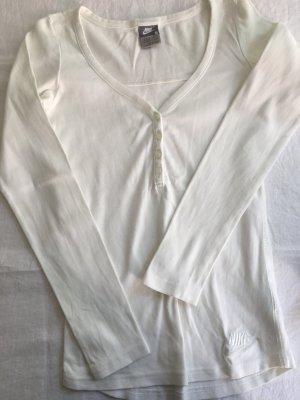 Nike T-shirt de sport blanc coton