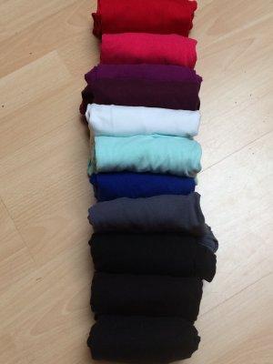 Langarm-Shirts 11-Stück-Paket Gr. 36
