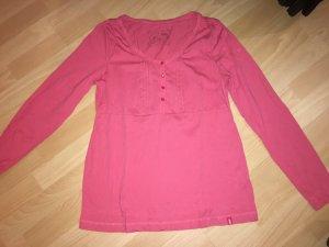 Langarm T-Shirt EDC by Esprit pink in Größe XL