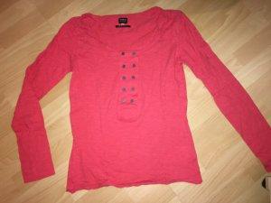 Langarm T-Shirt Only pink in Größe L