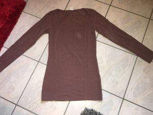 Langarm T-Shirt Vero Moda grau/lila in Größe L