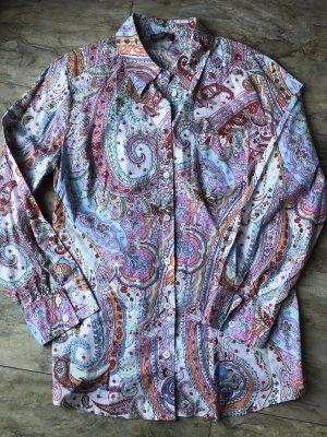 Langarmhemd Blumenmuster Gr.46/48