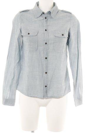 Langarmhemd himmelblau Casual-Look