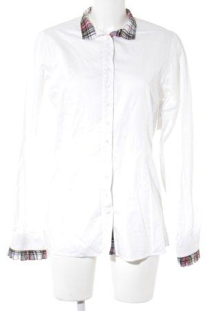 Camisa de manga larga estampado a cuadros estilo «business»