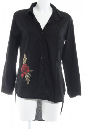 Long Sleeve Shirt black casual look