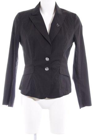 Langarmhemd schwarz extravaganter Stil