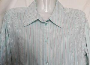 Langarmhemd Streifenmuster klassischer Stil