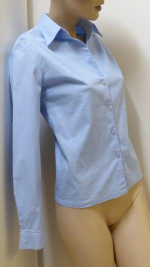 Long Sleeve Shirt light blue mixture fibre