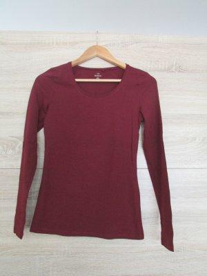 Langarmiges Damen T-Shirt, Größe XS