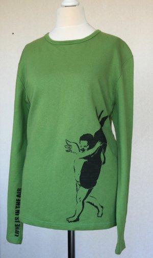Langarmiges T-Shirt mit Druck Gr. L