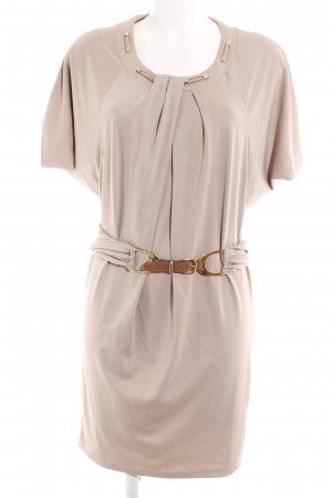 Langarmkleid beige Street-Fashion-Look