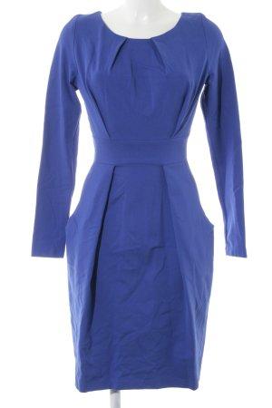 Langarmkleid blau Elegant
