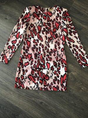 Langarmkleid H&M im angesagten Animalprint Größe 36
