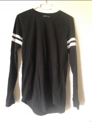 Long Shirt black-white