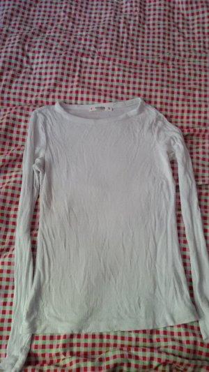 Pull & Bear Camisa larga blanco