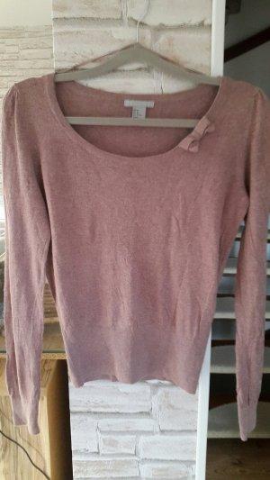 H&M Long Shirt dusky pink