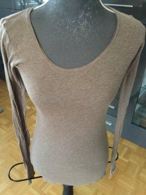 Langarmshirt American Vintage S braun