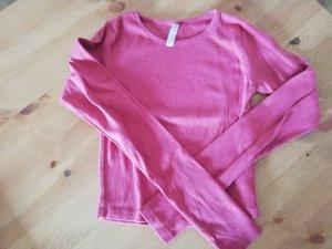 Fishbone Geribd shirt magenta