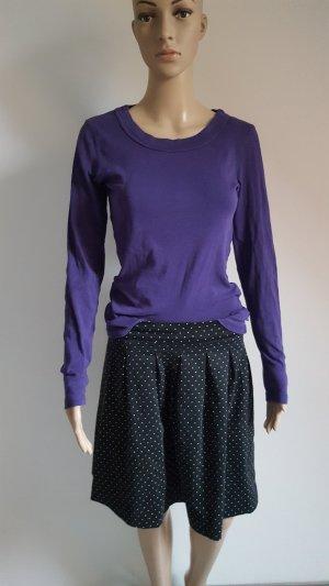 Langarmshirt Damen lila Vero Moda Basic 100 % Baumwolle Größe M