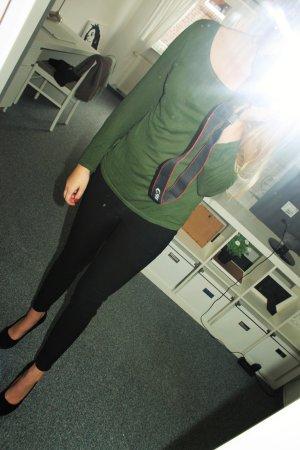 Langarmshirt dunkelgrün
