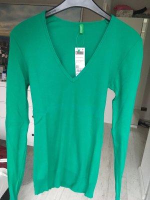 Langarmshirt grün Benetton