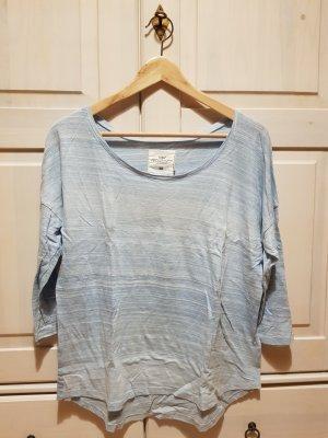 H&M L.O.G.G. Sweater wit-lichtblauw