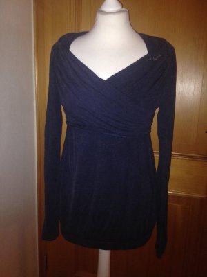 Langarmshirt in schwarz von khujo