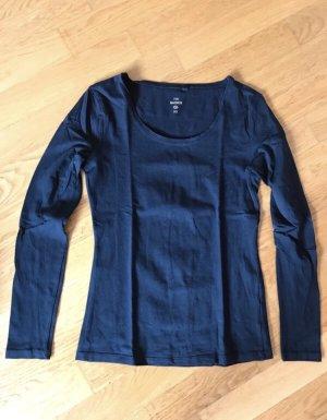 Langarmshirt Marineblau XS Neu