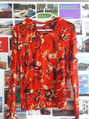 Weekday Boatneck Shirt red