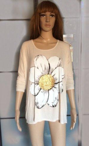 Langarmshirt mit Blumenprint