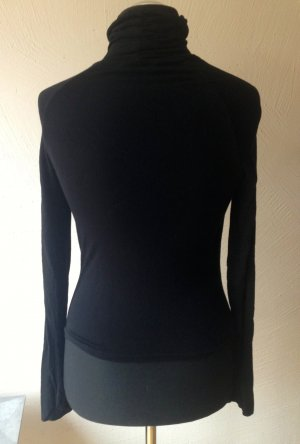 Turtleneck Shirt black mixture fibre