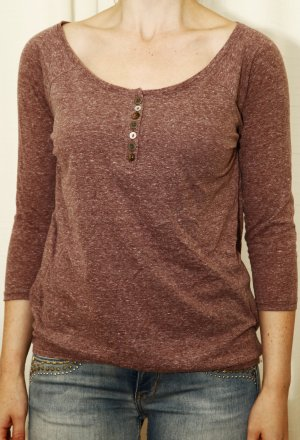 Langarmshirt mit schöner Knopfleiste aus Baumwolle