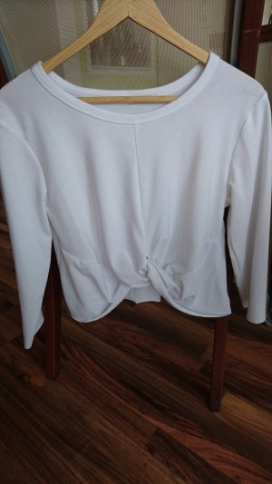 Shana Wraparound Shirt white