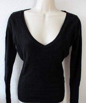 Langarmshirt, schwarz