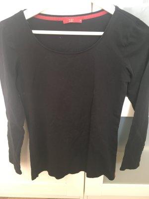 Langarmshirt schwarz edc M