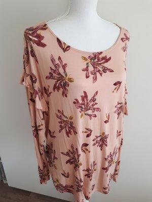 Langarmshirt Shirt Rüschen