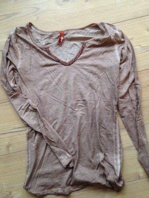 Langarmshirt Shirt Tigerhill Gr. M wie neu Perlen