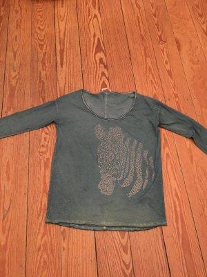 Bloom Camiseta gris verdoso