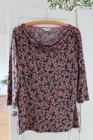 Boden Cowl-Neck Shirt multicolored
