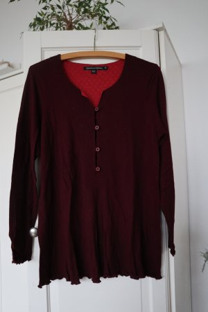 Gudrun Sjöden Shirt Tunic bordeaux lyocell