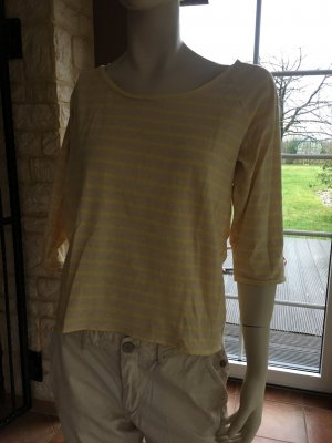 Hilfiger Denim Longsleeve cream-pale yellow