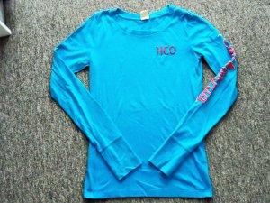 Hollister Long Shirt neon blue
