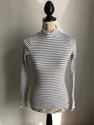 Hollister Gestreept shirt wit-zwart